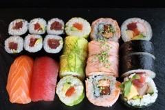 Foto Sushi zomer maandmenu